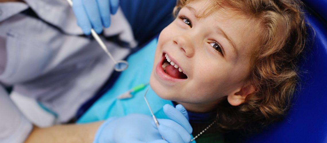 Bright Star Sapphire Dental (Fair Lawn, NJ) - Child at pediatric office
